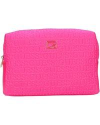 Guess Pwcarip0215 Kit Women Fuchsia Cosmetic Bag - Pink