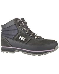 Helly Hansen - Woodlands Charcoal Women's Walking Boots In Grey - Lyst
