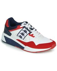 Kappa Lage Sneakers Barsel 2 - Wit