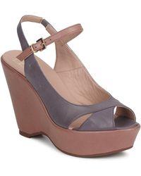 Janet & Janet | Vertune Women's Sandals In Purple | Lyst