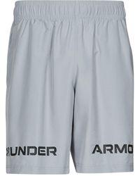 Under Armour Short UA WOVEN GRAPHIC WM SHORT - Gris