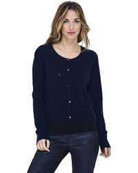 Mado Et Les Autres - Knit Vest In Rice Stitch And Polka Dots Women's Jumper In Blue - Lyst