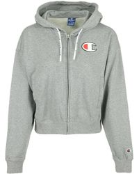 Champion - Sweater Hooded Full Zip Wn's - Lyst