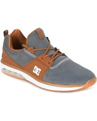 Dc Shoes Heathrow Ia Tr Men s Shoes (trainers) In Beige in Natural ... 99fcd33071c30