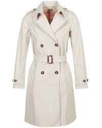 Benetton Trenchcoat Bacepamd - Naturel