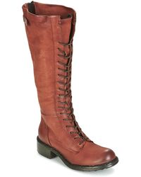 Dream in Green - Brigno Women's High Boots In Brown - Lyst