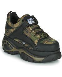 Buffalo Lage Sneakers 1339 - Groen