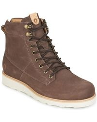 Volcom | Smithington 2 Men's Mid Boots In Brown | Lyst