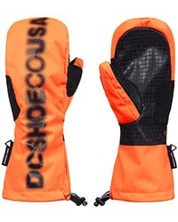 DC Shoes Guantes - Naranja