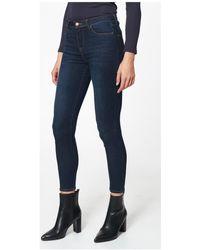 Best Mountain Jean slim Jeans skinny - Bleu