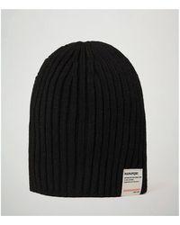 Napapijri FLOS - NP0A4EMD Bonnet - Noir