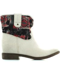 GAUDI - V43 60522 Ankle Boots Women Spago/pink Women's Mid Boots In Beige - Lyst
