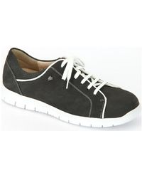 Finn Comfort - Canaria Street Patagonia Women's Shoes (trainers) In Black - Lyst