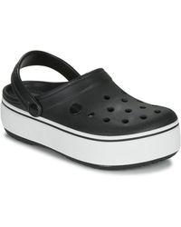 Crocs™ Crocbandtm Platform Klompen - Zwart