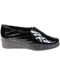 Hirica Chaussure Duche Vernis noir Ballerines