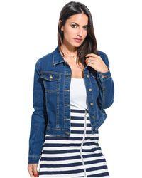 Ada Gatti - Jacket Jeanne Blue F Women's Jackets In Blue - Lyst