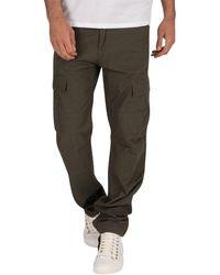 Carhartt Cargo Slim Fit Rinsed Aviation Pantalon - Vert