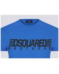 DSquared² 3890 T-shirt - Bleu