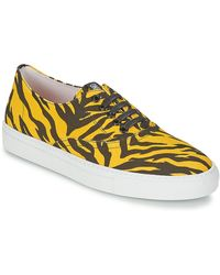 Boutique Moschino Sneakers & Tennis shoes basse - Giallo