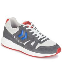 Hummel Lage Sneakers Legend Marathona - Grijs