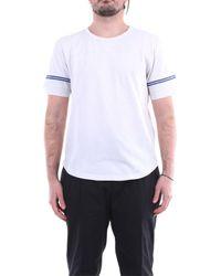 Saint Laurent T-shirt Korte Mouw 624992ybuw2 - Wit