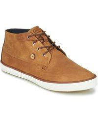 Faguo Hoge Sneakers Wattle - Bruin