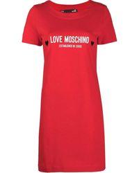 Love Moschino W592913M3876 Robe - Rouge