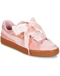 PUMA - Lage Sneakers Basket Heart Vs W'n - Lyst