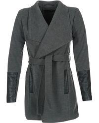 Vero Moda - Cala Women's Coat In Grey - Lyst