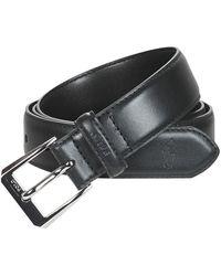 Polo Ralph Lauren Riem Smooth Leather-bowed Dr Blt-drs-sm - Zwart