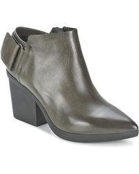 Vic Matié Low Boots Revebe - Grijs