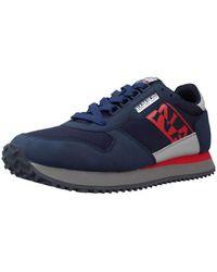 Napapijri Lage Sneakers Na4f2h - Blauw