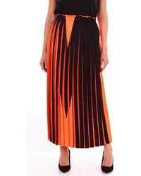 MM6 by Maison Martin Margiela S52MA0057843455 Jupes - Orange