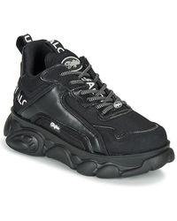 Buffalo Lage Sneakers Chai - Zwart