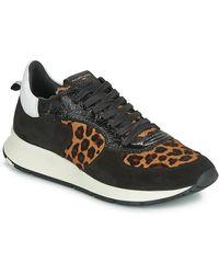 Philippe Model Lage Sneakers Montecarlo - Zwart