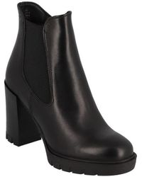 Tamaris - Boots Chelsea Talon Bloc 95 Mm Bottines - Lyst