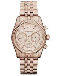 MICHAEL Michael Kors Horloge Mk5569 Lexington - Metallic
