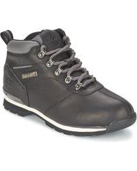 Timberland - Splitrock 2 Men's Mid Boots In Black - Lyst