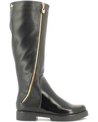 Byblos Blu - 6670h7 Boots Women Black Women's High Boots In Black - Lyst