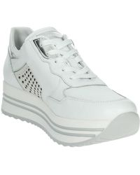 Nero Giardini Lage Sneakers E010563d - Wit