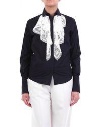 Patou Overhemd Bl0080017 - Zwart