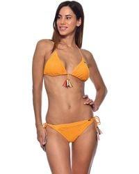 f84933a296 Banana Moon Bikini Bottom Striped White And Blue - Orla Carefree ...
