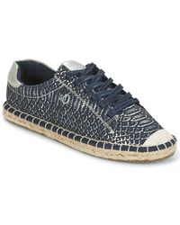 S.oliver - - Women's Shoes (trainers) In Blue - Lyst