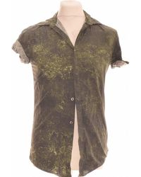 New Look Chemise Manches Courtes 36 - T1 - S Chemise - Vert
