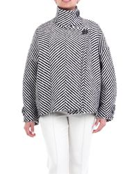 Erika Cavallini Semi Couture W0PP0WP03 Manteau - Multicolore