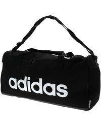 adidas Lin duffle m black white Sac de sport - Noir