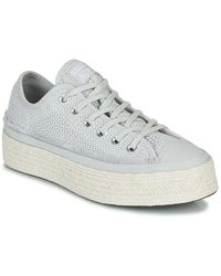 Converse - Lage Sneakers Chuck Taylor All Star Espadrille Summer Getaway - Lyst