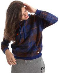 Y Not? - ? Y17ai074 Sweatshirt Women Blue Women's Jumper In Blue - Lyst