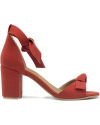 Nae Vegan Shoes Estela Red Sandales - Rouge