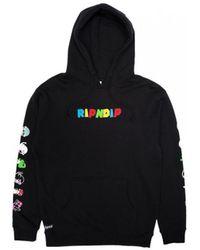 RIPNDIP Nermio hoodie Sweat-shirt - Noir